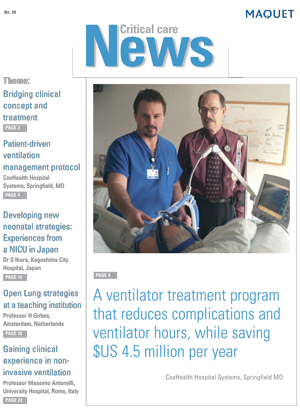 Critical Care News Issue 10
