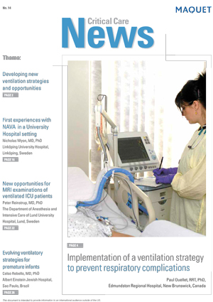 Critical Care News Issue 14