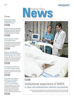 Critical Care News Issue 18