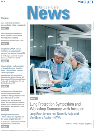 Critical Care News Issue 19