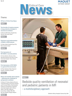 Critical Care News Issue 20